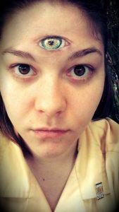 Third Eye Tattoo Forehead