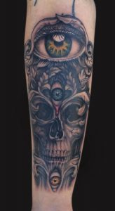 Third Eye Tattoo Sleeve
