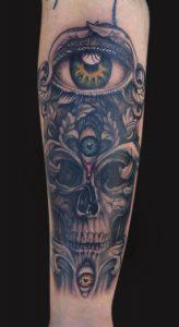 Third Eye Tattoo Sleeve