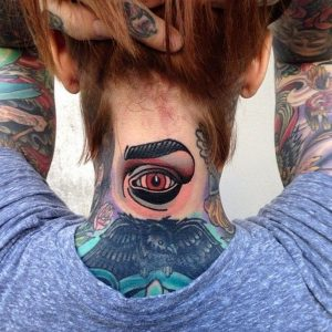 Third Eye Tattoo for Girls