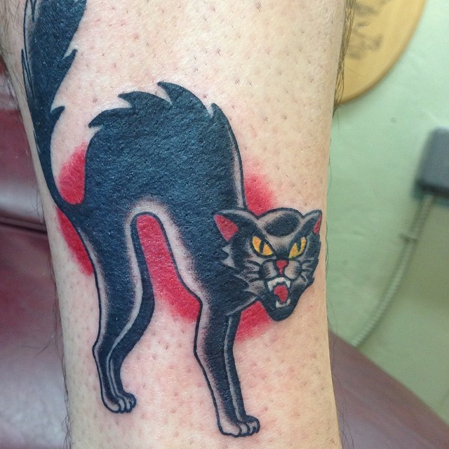 Black Cat Tattoos Designs, Ideas and Meaning | Tattoos For You