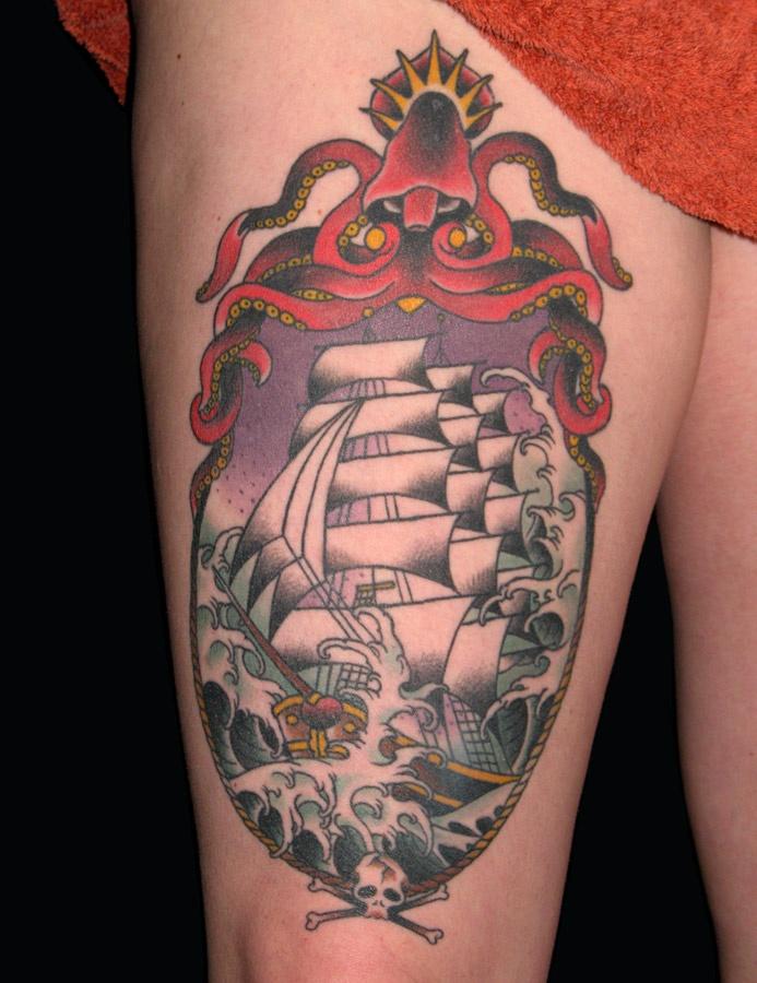Наколки для моряков
