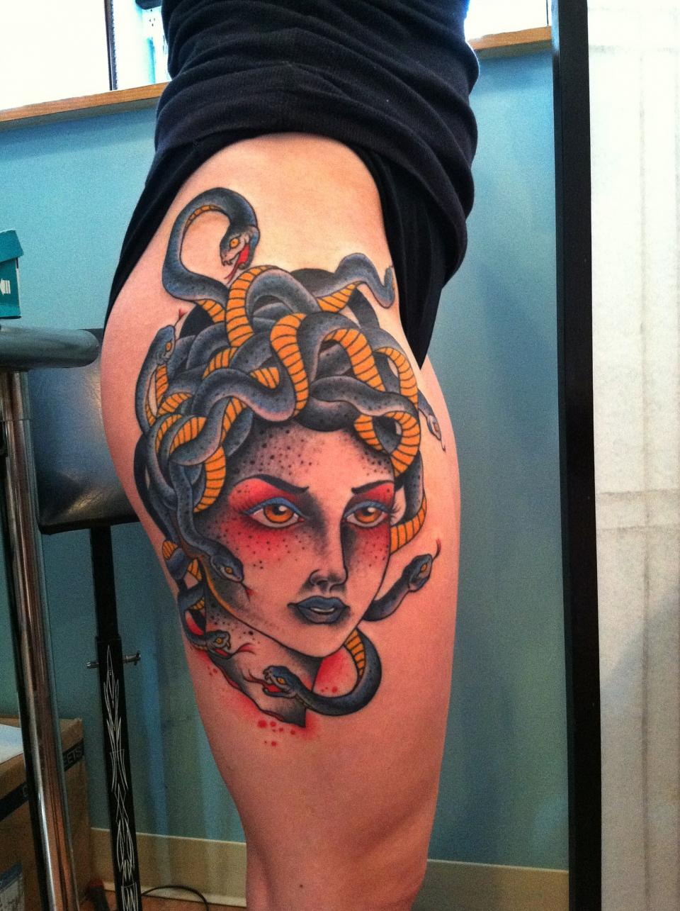 Medusa Tattoos Designs, Ideas And Meaning
