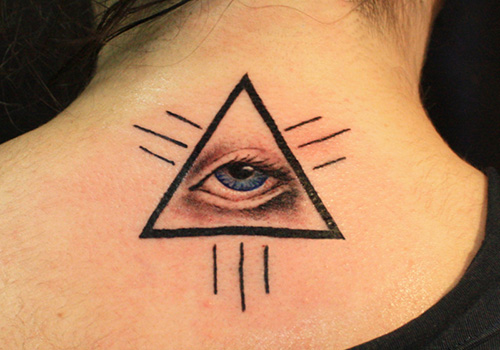 Eye With Triangle Tattoo: Triangle Tattoos Designs, Ideas And Meaning