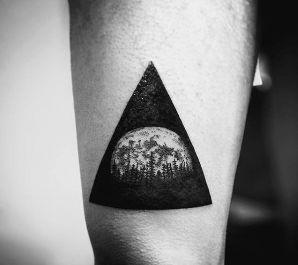 Triangle Tattoos Designs, Ideas And Meaning