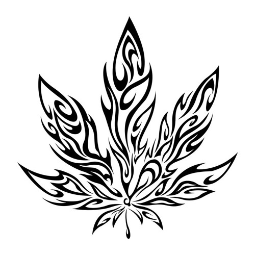 weed tattoos drawings images galleries with a bite. Black Bedroom Furniture Sets. Home Design Ideas