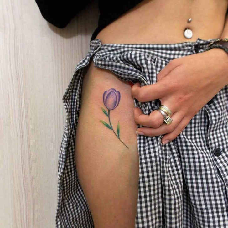 27e5b3496 Tulip Tattoos Designs, Ideas and Meaning | Tattoos For You
