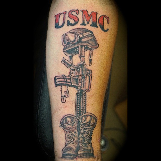 Usmc Wife Tattoos USMC Tattoos Designs, ...