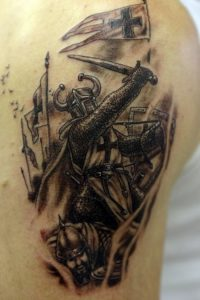 Warrior Tattoo Designs