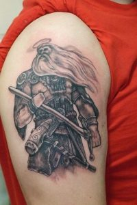 Warrior Tattoo Ideas