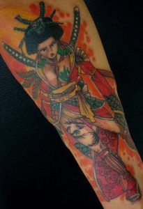 Warrior Tattoos for Females