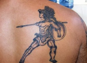 Warrior Tattoos for Men