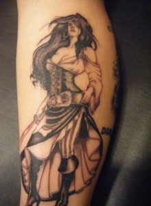 Warrior Tattoos for Women