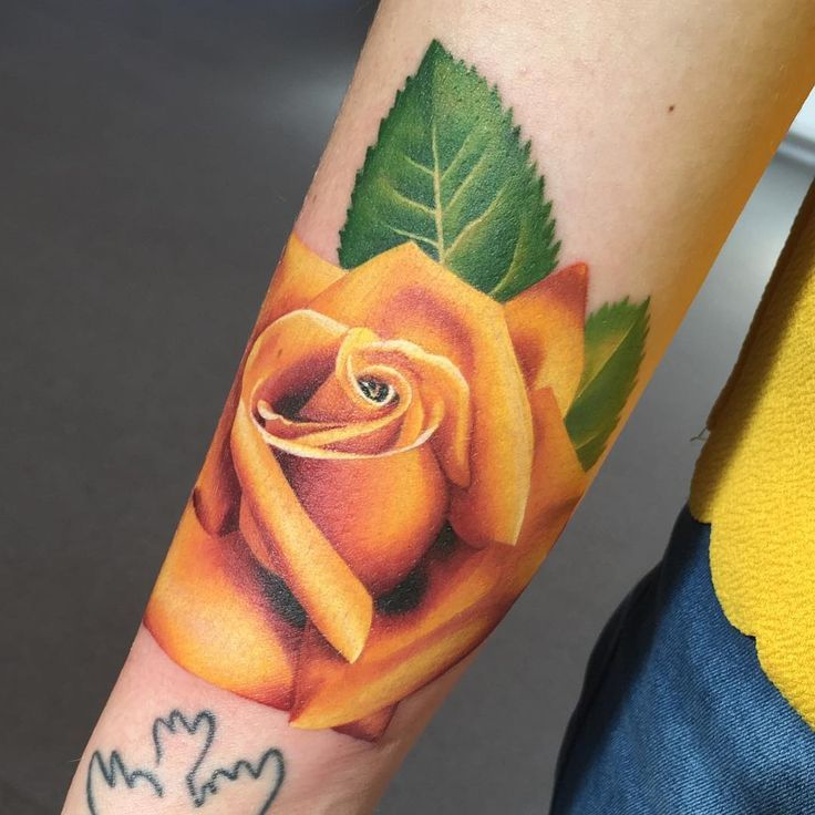 Yellow Rose Tattoos Designs, Ideas and Meaning | Tattoos For You
