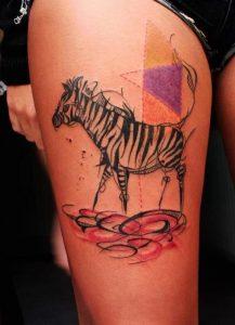 Zebra Tattoo Ideas