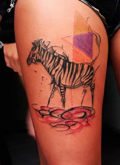 zebra tattoos designs  ideas and meaning