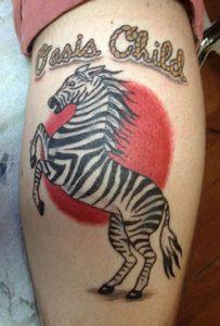 Zebra Tattoos