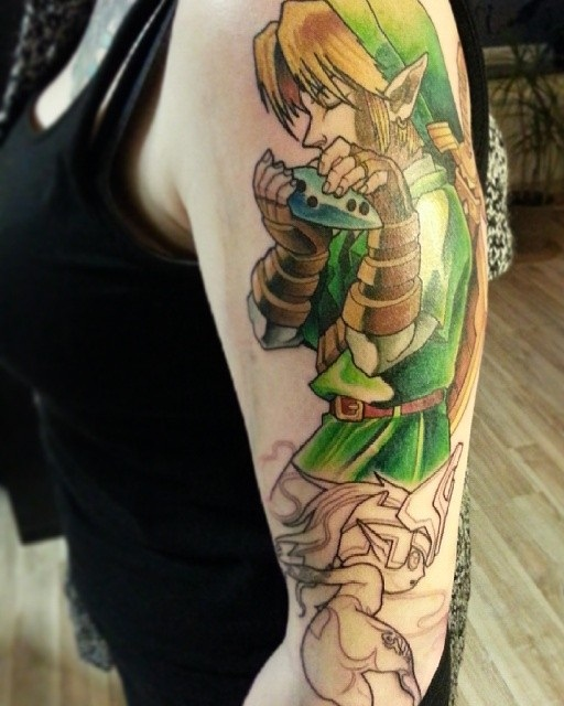 Zelda Tattoos Designs, Ideas And Meaning