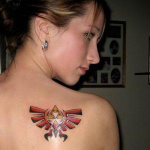 Zelda Tattoos on Girls