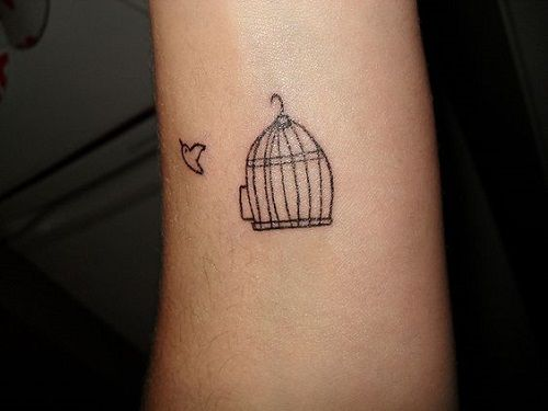 Open Bird Cage Tattoo Bird Cage Tattoos Desi...