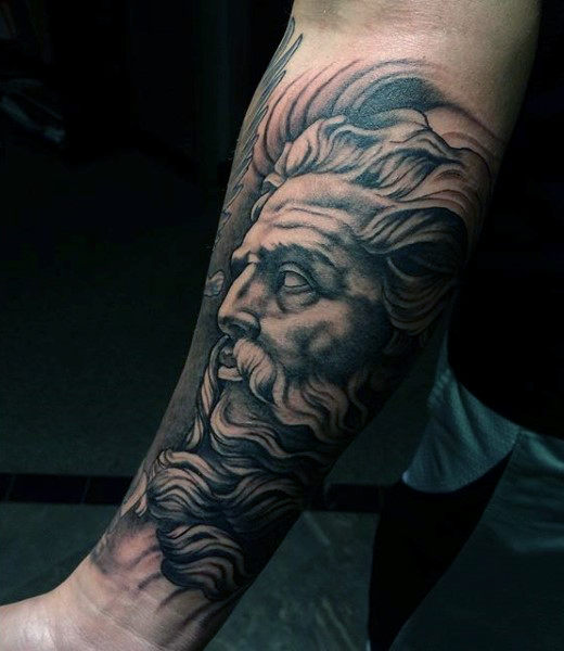 Zeus Tattoos Designs, Ideas And Meaning