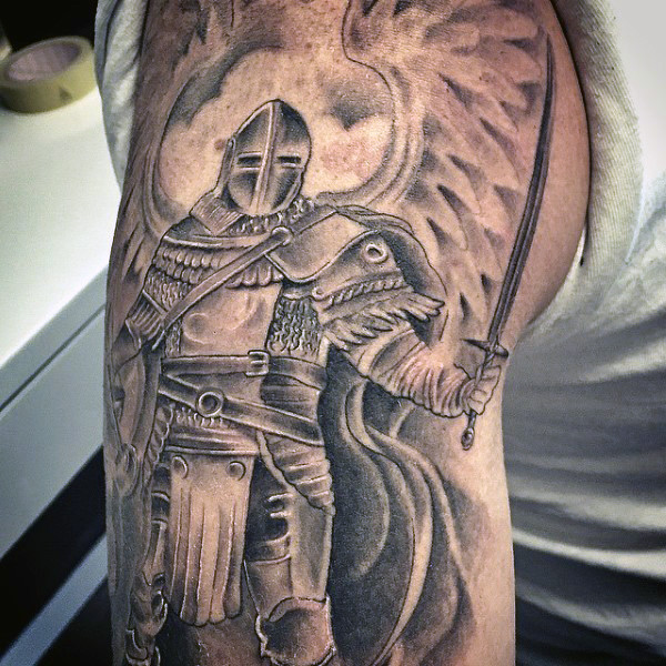 Tattoo Woman Knight: Knight Tattoos Designs, Ideas And Meaning