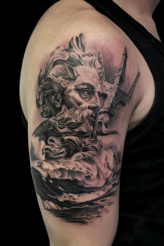 Poseidon Tattoos Designs Ideas And Meaning Tattoos For You