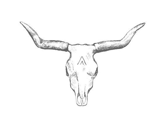 9814b7f50 Bull Skull Tattoos Designs, Ideas and Meaning | Tattoos For You