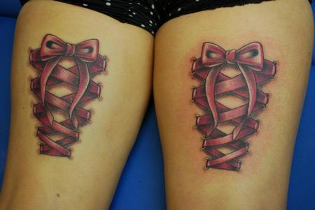 Bow Tattoos On Back Of Legs Meaning