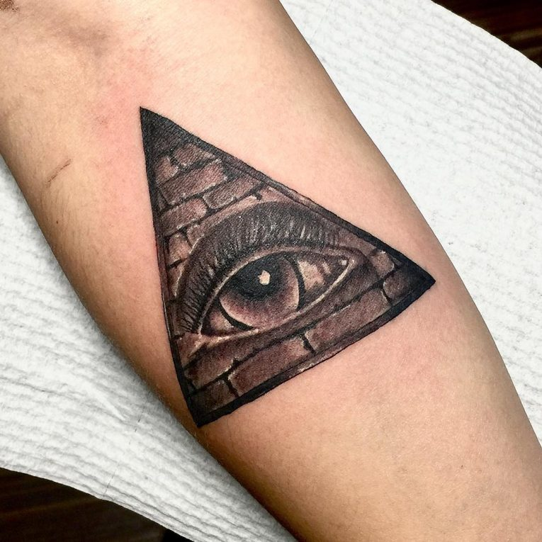 Pyramid Tattoos Designs Ideas And Meaning
