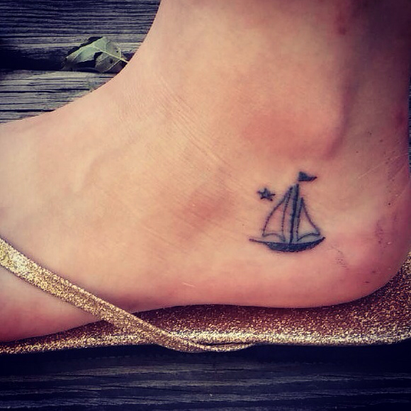 Sailboat Tattoos Designs, Ideas And Meaning