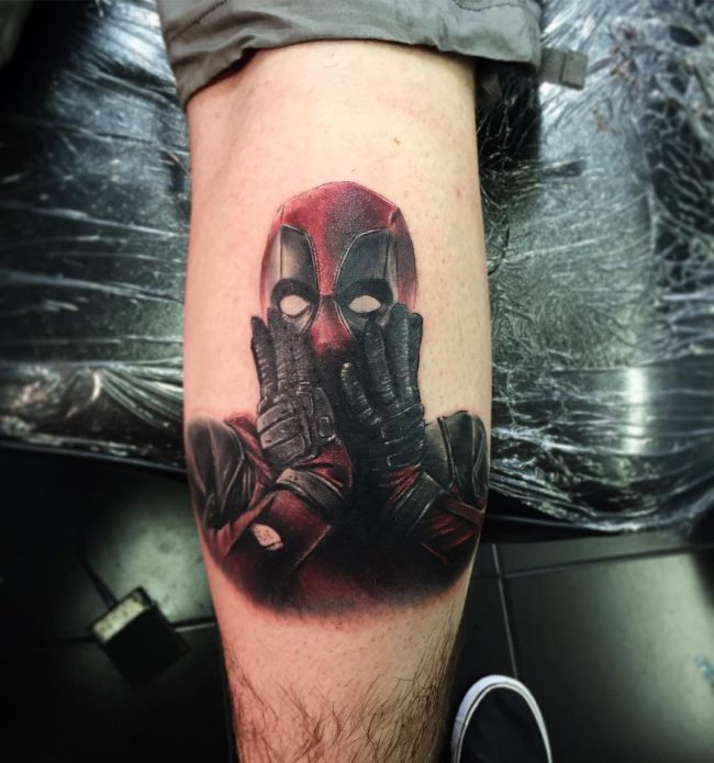Deadpool Tattoos Designs Ideas And Meaning Tattoos For You