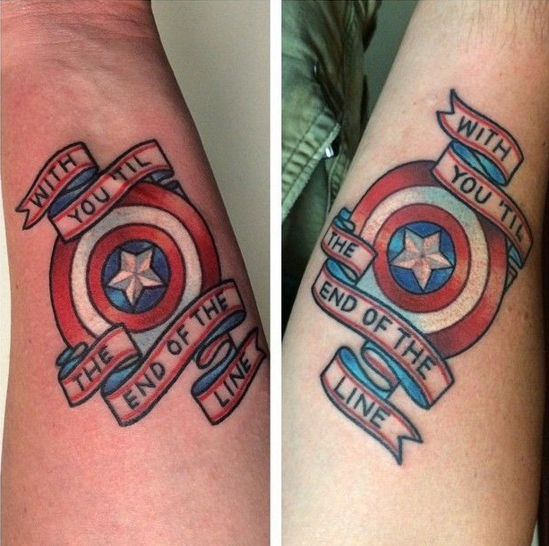 Superhero Tattoos Designs, Ideas and Meaning   Tattoos For You