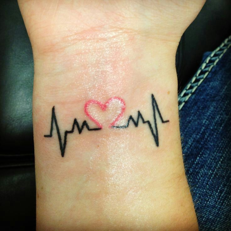 Pulse Tattoos Designs, Ideas And Meaning