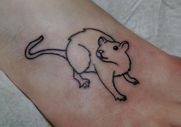 Rat Tattoos Designs Ideas And Meaning Tattoos For You