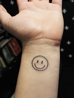 Parts Of The Ear >> Smiley Face Tattoos Designs, Idea and Meanings   Tattoos For You