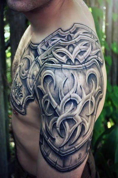 26a8f6ab2 Armor Tattoos Designs, Ideas and Meaning | Tattoos For You