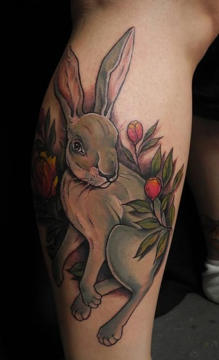 Bunny Tattoo Designs Ideas And Meaning Tattoos For You