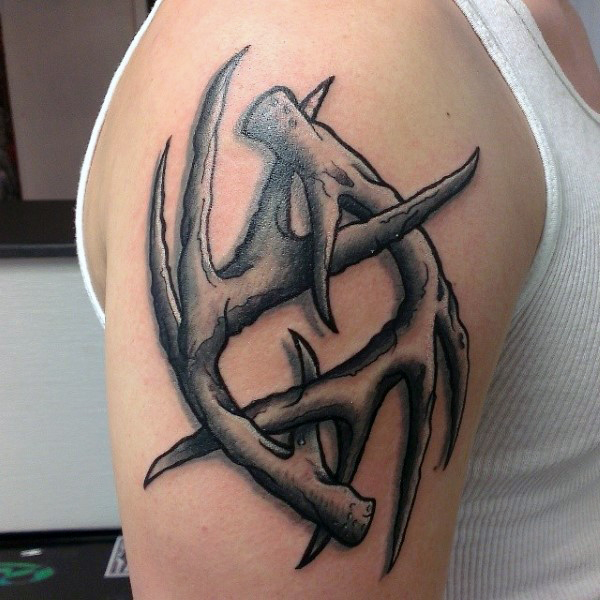 Antler Tattoos Designs, Ideas And Meaning