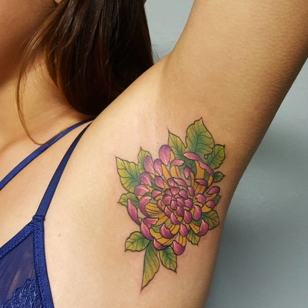 Underarm Tattoos Designs, Ideas And Meaning