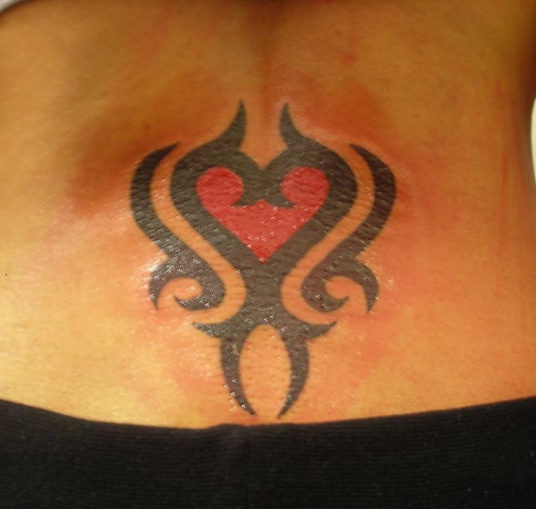 tribal heart tattoos designs ideas and meaning tattoos for you. Black Bedroom Furniture Sets. Home Design Ideas