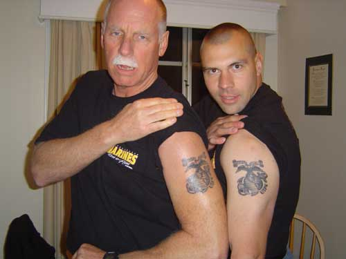 Father And Son Matching Tattoos Designs Ideas And Meaning Tattoos