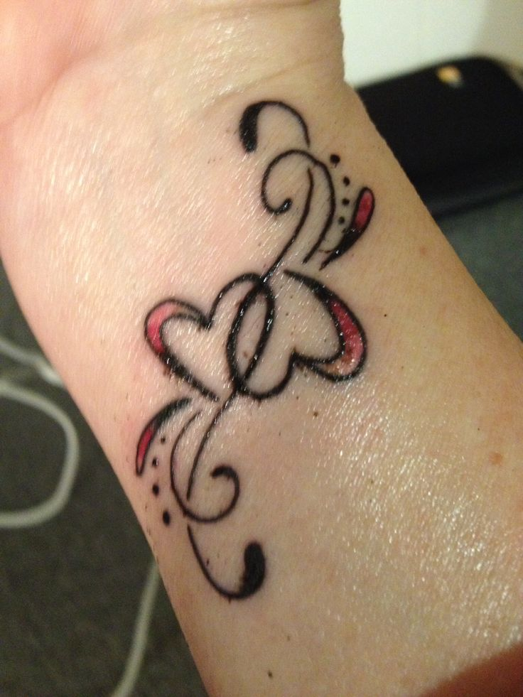 Heart Tattoos on Wrist Designs, Ideas and Meaning
