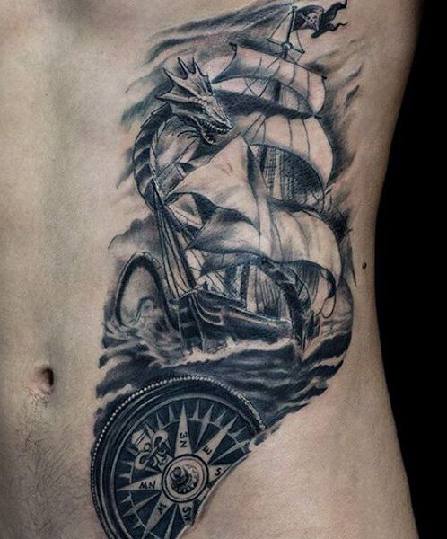 Rib Tattoos for Men Designs, Ideas and Meaning | Tattoos For You
