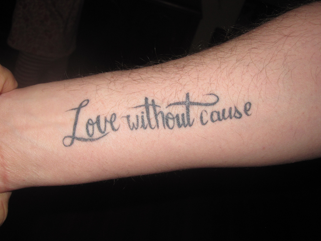 Love Wallpapers Tattoo Hand I Love You Propose: Quote Tattoos For Men Designs, Ideas And Meaning