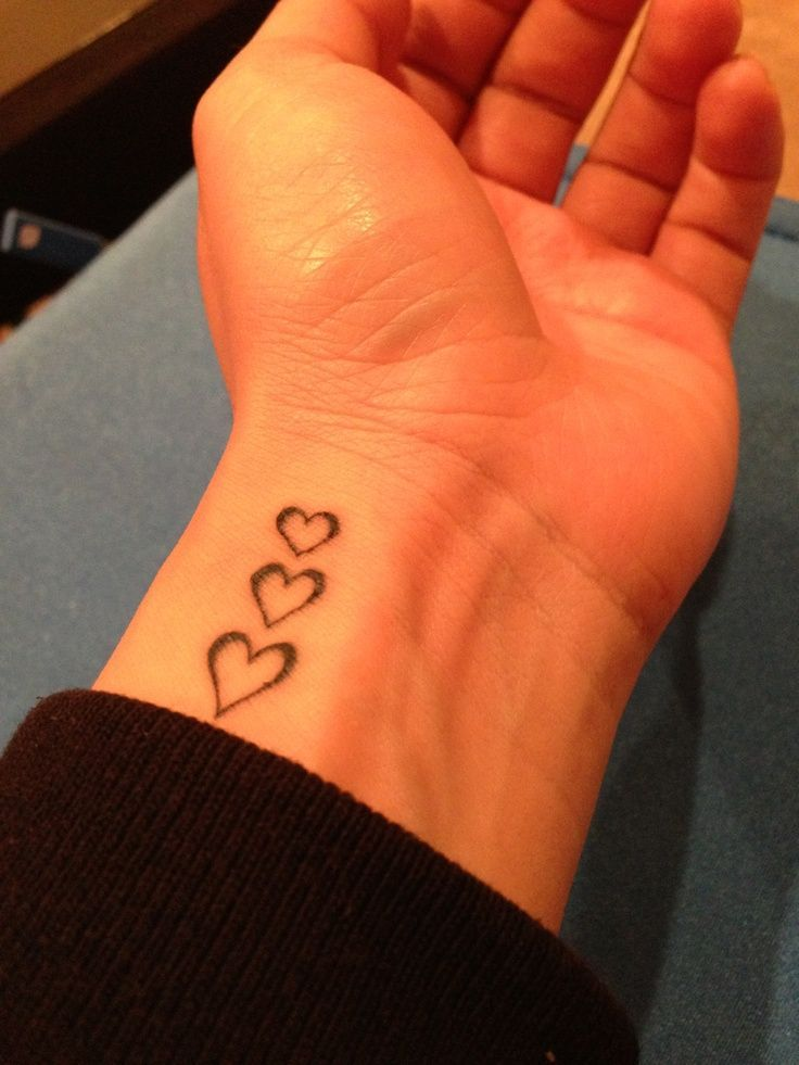 Heart Tattoos on Wrist Designs, Ideas and Meaning ... Double Infinity Tattoos On Wrist