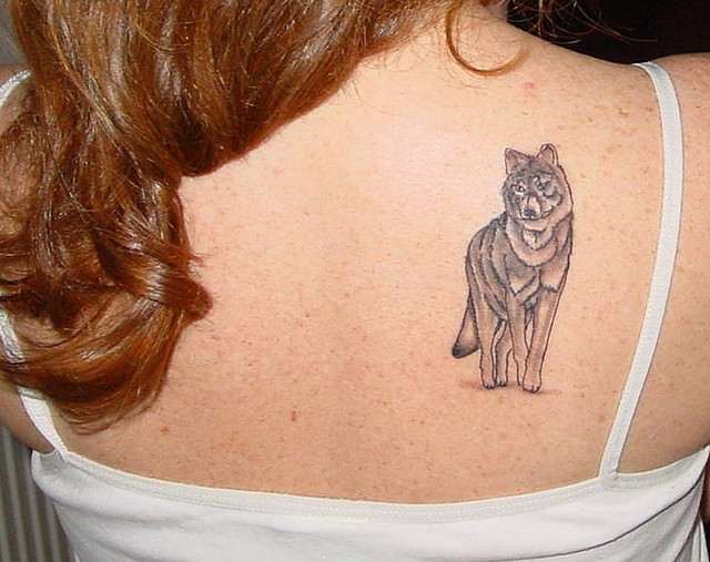 Wolf Tattoo For Girl Designs Ideas And Meaning Tattoos For You