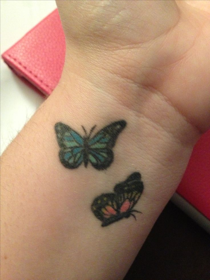 butterfly wrist tattoos designs ideas and meaning. Black Bedroom Furniture Sets. Home Design Ideas