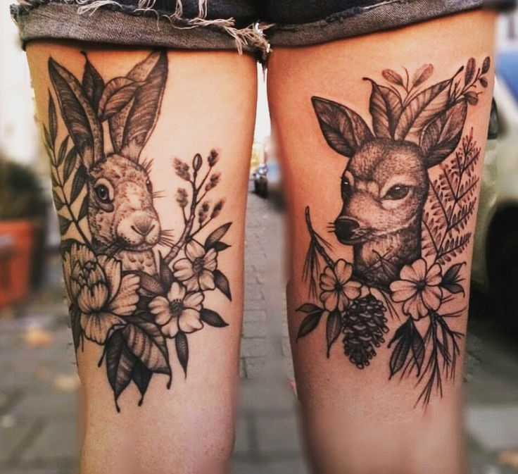 Tattooz Designs Back Tattoos: Back Thigh Tattoos Designs, Ideas And Meaning
