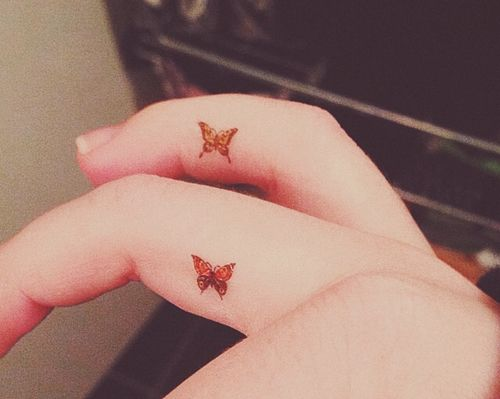 Butterfly Finger Tattoo Designs Ideas And Meaning Tattoos For You